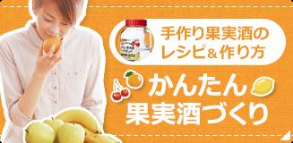 手作り果実酒の作り方&レシピ「かんたん果実酒づくり」